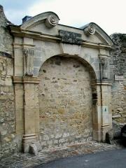 Ancien couvent de la Présentation - Français:   Un ancien portail du couvent N.D. de la Présentation, du XVIIe siècle, rue de la Cognée.