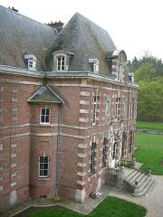 Château d'Auteuil (également sur commune d'Auteuil) -  Castello di auteuil