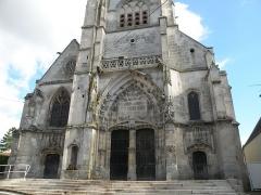 Eglise Saint-Martin - Français:   Église Saint-Martin de Bulles