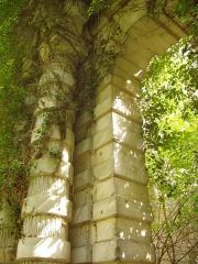 Château Mennechet -  Château de Chiry-Ourscamp (Oise): détail