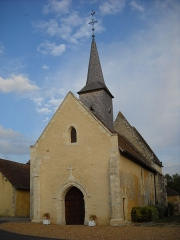 Enclos prioral - English: The church of Dame-Marie, Orne, France.