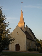 Enclos prioral -  Eglise de Dame Marie