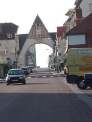 Marché couvert - Arche du Touquet