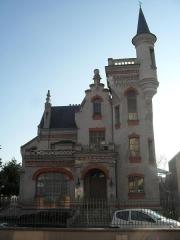 Villa Le Castel - Français:   Rue Jean Monnet, Le Touquet-Paris-Plage  Architecte: Henri VALETTE Date: 1904 \