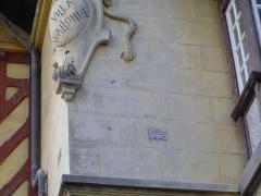 Villa La Wallonne - Français:   Détail de la villa Wallonne