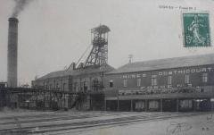 Mines d'Ostricourt - English: Pit of the Compagnie des mines d'Ostricourt, Nord-Pas-de-Calais, France.