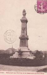 Monument aux victimes de la catastrophe de Courrières - English: Avion, France. Monument to the victims of the Courrières mine disaster.