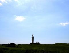 Phare du Gris-Nez, situé route du Cap -  Audinghen. Le phare du Cap Gris-Nez.