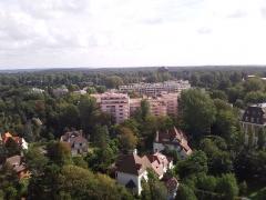 Phare de la Canche - Français:   Le Touquet-Paris-Plage - Vue du haut du phare (10)
