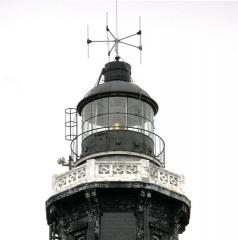 Phare de Calais - Lëtzebuergesch: D'Lanter vum Tuerm am August 2008. Kategorie:Liichttierm a Frankräich