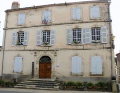 Maison Rudel du Miral -  Chauriat - Mairie, ancienne maison Rudel du Mirail