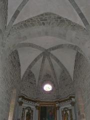 Château de Lord Davis - Plafond du chœur de l'église Notre-Dame, Tauves, Puy-de-Dôme, France.