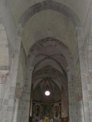 Château de Lord Davis - Plafond de la nef et du chœur, église Notre-Dame, Tauves, Puy-de-Dôme, France.