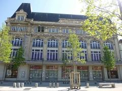 "Grand magasin ""les Galeries de Jaude"" - English: Galleries de Jaude, place de Jaude, Clermont-Ferrand."