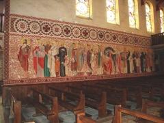 Chapelle du Sacré-Coeur, actuellement chapelle du lycée Saint-Joseph - English: Hasparren (Pyr-Atl, Fr) Chapelle du Sacré-Coeur, frescoes