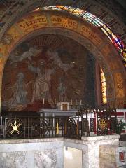 Chapelle du Sacré-Coeur, actuellement chapelle du lycée Saint-Joseph -  Coeur de Notre Dame du Sacré Coeur-1934- Hasparren - Pyrénées Atlantiques Auteur/author: P.Charpiat - 2006