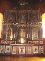 Eglise Notre-Dame de l'Assomption - English: Bidart (Pyr-Atl., Fr) altar piece
