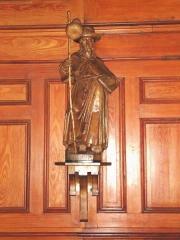 Eglise Notre-Dame de l'Assomption - English: Bidart (Pyr-Atl., Fr) statue St.James pilgrim in the church.