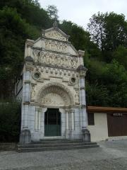 Calvaire et chemin de croix extérieur - English: Via Crucis of Bétharram (France) - First station