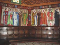 Eglise Saint-Vincent -  Ustaritz (Pyr-Atl., Fr) église Saint-Vincent-diacre, wall paintings
