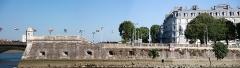 Ancien fort du Réduit de la place-forte de Bayonne -  Panoramic view of the