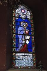 Eglise Saint-Jacques - Deutsch: Katholische Kirche Saint-Jacques in Pau im Département Pyrénées-Atlantiques (Région Aquitaine/Frankreich), Bleiglasfenster, Darstellung: Maria Magdalena