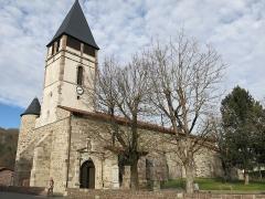 Eglise Saint-Etienne - English: South-east side of the church Saint-Étienne-de-Baïgorry (Pyrénées-Atlantiques, France).