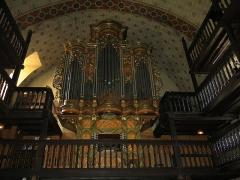 Eglise Saint-Etienne - English: Organ of the church Saint-Étienne-de-Baïgorry (Pyrénées-Atlantiques, France).
