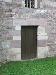 Eglise Saint-Etienne - English: Church Saint-Étienne-de-Baïgorry - Door of the cagots, outside (Pyrénées-Atlantiques, France).