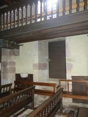 Eglise Saint-Etienne - English: Church Saint-Étienne-de-Baïgorry - Door of the cagots, inside (Pyrénées-Atlantiques, France).