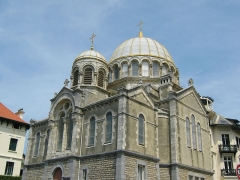 Eglise orthodoxe - English: Russian Orthodox church of Biarritz