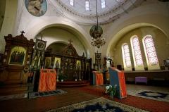 Eglise orthodoxe -  Orthodox Church interior in Biarritz, France