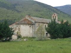 Chapelle de Corbiac - Català: Santa Maria de Corbiac, a Mosset. Vista des del nord-est