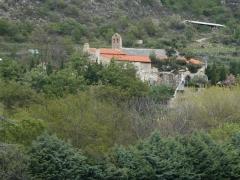 Chapelle de Corbiac - Català: Corbiac des del sud-oest, a Mosset