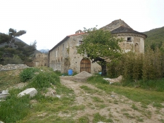 Chapelle de Corbiac - Català: Santa Maria de Corbiac, a Mosset. Absis i costat sud