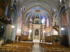 Eglise Saint-Mathieu - Català: Interior de l'església
