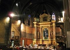 Eglise Saint-Mathieu - Català: Església de Sant Mateu (Perpinyà), interior