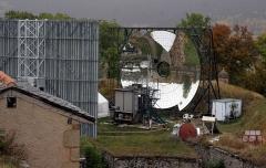 Four solaire de Mont-Louis - Deutsch: Der Solarschmelzofen von Mont-Louis innerhalb der Festungsanlage im Oktober 2008
