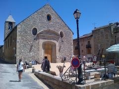 Eglise paroissiale Saint-Louis, située dans la ville - Català: Església de Sant Lluís, idèntica a la primera església que es troba dins de les muralles de la Ciutadella (part militar) i, encara que construït al segle XVIII, és d'estil del segle XVII. Iniciat en 1733, l'església es completarà en 1737. Aquest edifici es caracteritza per l'estil dels enginyers militars.