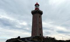 Phare du Cap Béar, situé à la pointe du Cap Béar - English: Béar Lighthouse