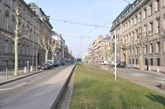 Ancien bâtiment ministériel (est) , Préfecture du Bas-Rhin -  Avenue de la Paix