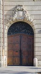 Ancien bâtiment ministériel (est) , Préfecture du Bas-Rhin -  Porte occidentale de la préfecture
