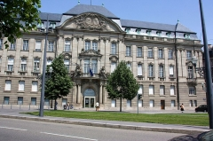 Ancien bâtiment ministériel (est) , Préfecture du Bas-Rhin -  Préfecture de région à Strasbourg (Strasbourg - Bas-Rhin - France)
