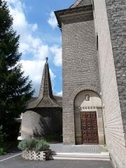 Eglise protestante Saint-Paul de Koenigshoffen - Français:   Strasbourg: Eglise protestante Saint-Paul de Koenigshoffen, 35 rue de la Tour. 1911. Architecte: Edouard Schimpf (1822-1916). Inscrite aux Monuments historiques en 1997.