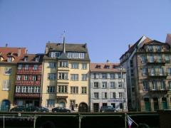 Immeuble - Alemannisch: Schdroosburi, Frànkrich