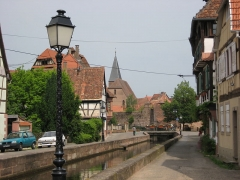 Canal de la Lauter -  Wissembourg, France