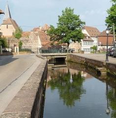 Canal de la Lauter -  Canal de la Lauter, monument historique