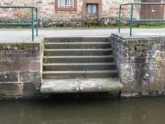 Canal de la Lauter - English: Canal de la Lauter, Wissembourg, France
