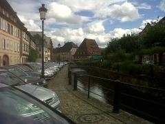 Ancien hôpital dit Maison du sel - English: Quai Anselmann (Wissembourg)