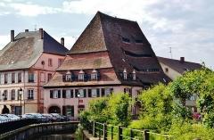 Ancien hôpital dit Maison du sel - Deutsch: Salzhaus, Weißenburg, Elsass, Frankreich
